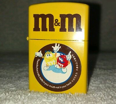 M&M's Collectible Yellow Lighter