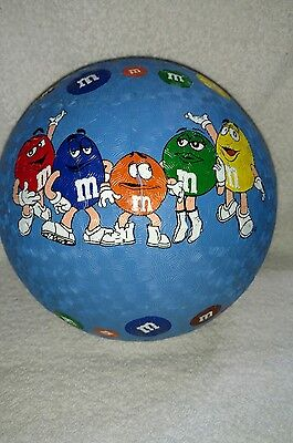 M&M's Blue Round Ball With All 5 Characters