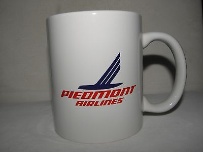 Piedmont Airline Coffee Cup Mug Airplane Pilot Fathers Day Gift Collectible