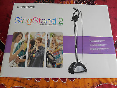 Memorex Sing Stand 2 Home Karaoke System Parties Family Game in  sealed box