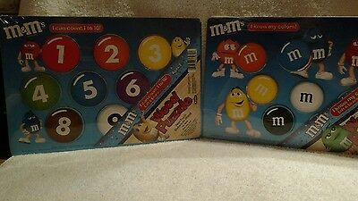 M&M's Wood Puzzles Lot of 2