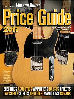 The Official Vintage Guitar Magazine Price Guide 2017 Gitarre Buch