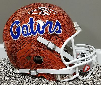 Emmitt Smith Florida Gators Autographed Hydro Dip AUTHENTIC Helmet NFL cowboys