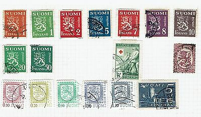 Finland mixed Stamp lot