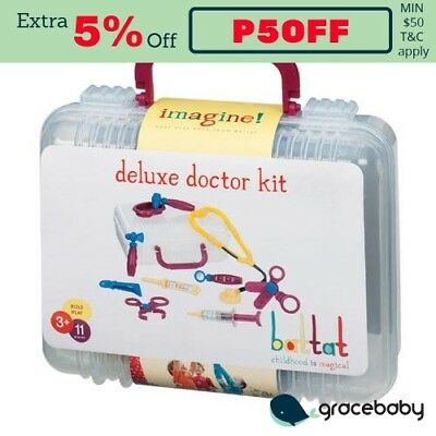 Battat Pretend Play Deluxe Doctor Kit Toy Set
