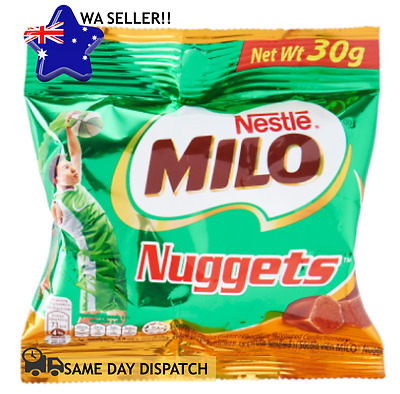 MILO Nestle Nuggets Chocolate Malt Flavoured Confectionery Energy