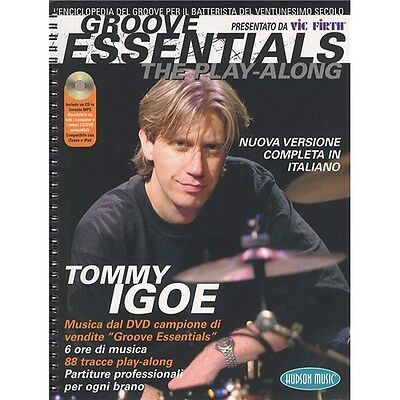 Tommy Igoe: Groove Essentials - The Play-Along (Italia.... Drums Sheet Music, CD