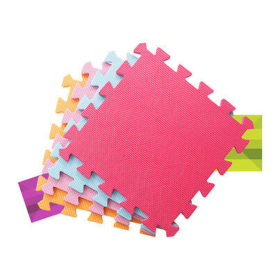9pcs Toddler Play Area Puzzle Mat Foam Playmat Kids Safety Baby Room Floor Soft