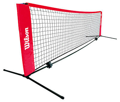 Wilson 6.1m Mini Tennis Net and Posts Set