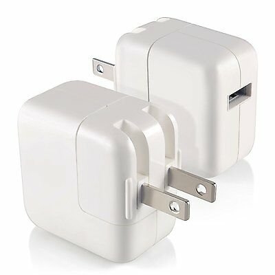5x MD836LL/A OEM 12W USB Power Adapter Wall Charger for iPhone/iPad/Mini