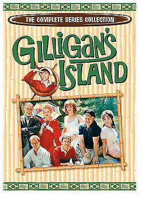Gilligans Island: The Complete Series 1 2 3 Collection (DVD, 2007, 9-Disc Set)