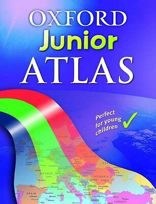 Oxford Junior Atlas, Wiegand, Patrick Hardback Book The Cheap Fast Free Post