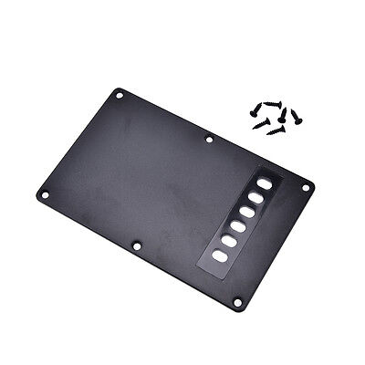 1Pc black guitar tremolo spring backplate cover for electric guitar durable
