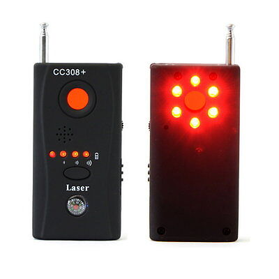 Wireless Signal Detector CC308 + Multi-Function Camera Bug GSM WiFi GPS Laser LY