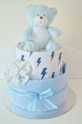 Nappy Cake Baby Neural Unisex Melbourne Hamper Affordable Cheap