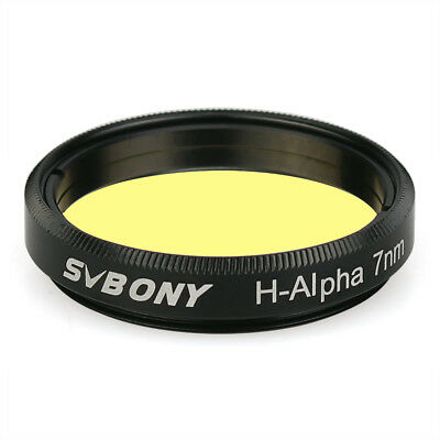"""SVBONY  H-Alpha 7nm 1.25"""" Filter Narrowband Astronomical Photographic Filters"""