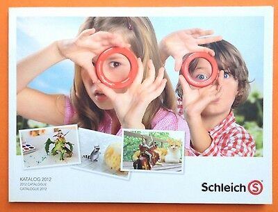 SCHLEICH HÄNDLERKATALOG 2012 DIN A4 TRADE CATALOGUE KATALOG BOOK - 196 Pages