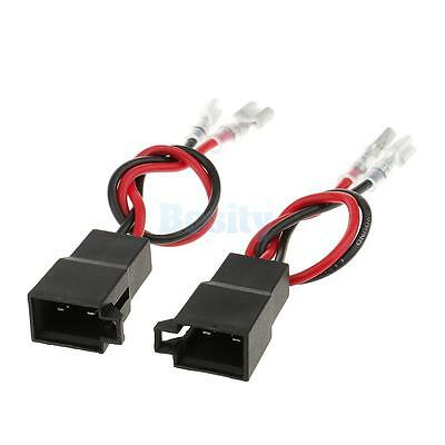 2x Speaker Adaptor Plug Leads Cable Connectors Pair PC2-805 for Renault