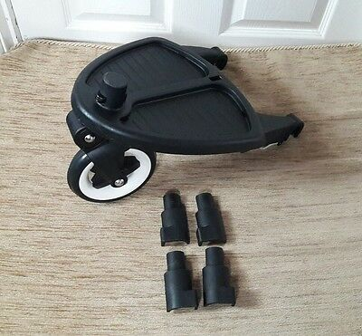 bugaboo cameleon gecko and frog  wheeled board with adapters