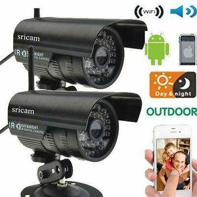 IP Cam P2P WiFi Outdoor Waterproof Wired IR Night Vision Security Network LY