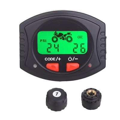 TPMS Lightning-proof Wireless Motorcycle Tire Pressure Monitoring Syste-UK