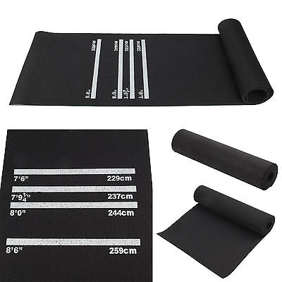 Large Darts Mat Rubber Soft Feel Professional Darts Mat for Club Entertainment