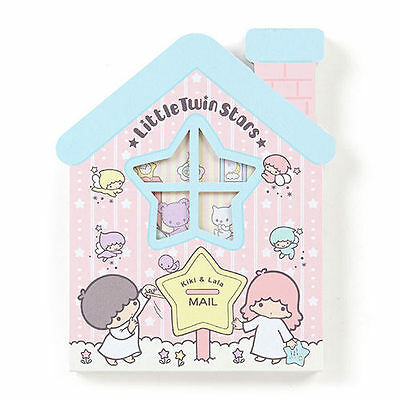 Sanrio Little Twin Stars House Type Sticky Note Memo 667064N