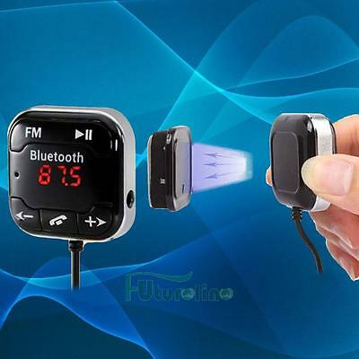 coche Kit inalambrico Bluetooth FM transmisor manos libres LCD USB SD MP3 Player