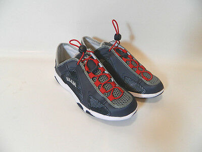 Slam Scarpa New Weekend  Navy/red Scarpe Da Barca Vela Citta'