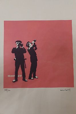 "Banksy ""The Avon Print"" edition of 300"