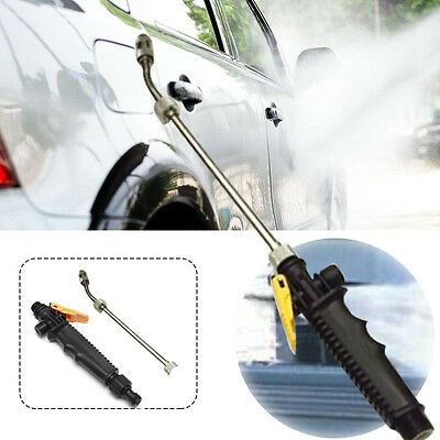 57cm High Pressure Power Washer Spray Nozzle Water Jet Hose Wand Attachment Car