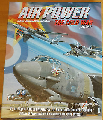 Air Power Cold War ADD ON Combat/Flight Simulator by Just Flight Boxed Manual