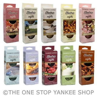 Yankee Candle Electric Scent Plug Refill Variety - ADD 3 TO BASKET FOR OFFER