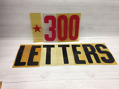 """300 - 8"""" Letters & Numbers for Outdoor Advertising Signs Marquee"""