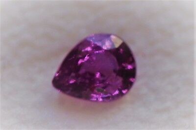 1,17 ct Beau Saphir Rose/violet Naturel de Tanzanie