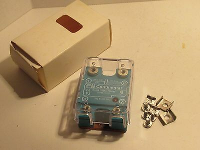 Continental Svaa/3V50 100-280 Vac Solid State Relay New