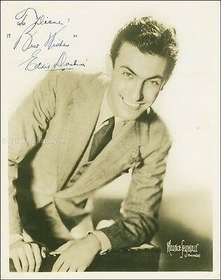 Eddy Duchin - Inscribed Photograph Signed