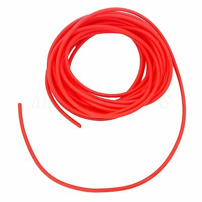 5M L 1.6x3.2mm Natural Latex Surgical Slingshot Elastica Bungee Tube Rubber Band