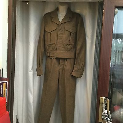 ����battledress Jacket And Trousers War Department Stamped