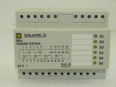 Square D S48383/ S47404 Programmable Contact 48846 NEW