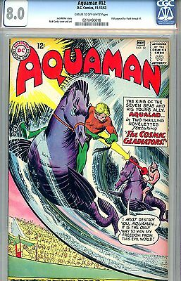 Aquaman #12 CGC GRADED 8.0 - Nick Cardy cover and art