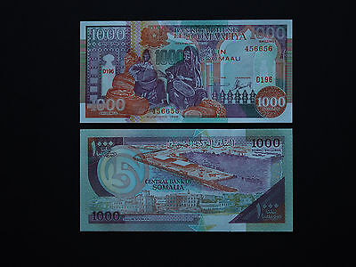 SOMALIA BANKNOTES 1000 SHILLINGS  p 37  -  QUALITY  1990-1996  ISSUE  Mint UNC