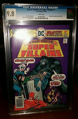 Secret Society Of Super Villians #1 Cgc 9.8 W/pgs 1St Appearance