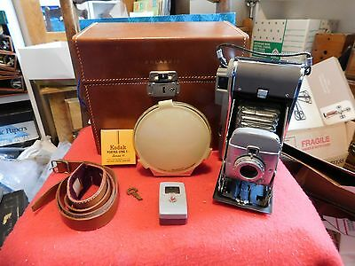 Polaroid Instant Film Camera Model 80 in Case with Accessories Vintage