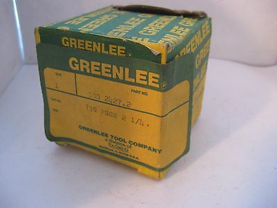 """Greenlee 730 Punch 2 1/4"""" With Box - Part #500 2427.2"""