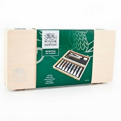 Winsor & Newton New Winton Oil Wooden Small Art Set