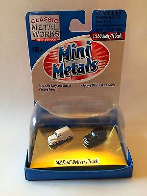 Classic Metal Works Mini Metals 48 Ford Delivery Truck N Scale New On Card