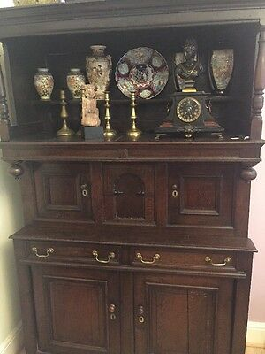 Period Oak Tridarn Court Cupboard Welsh Origins, Superbly Crafted, Exceptional