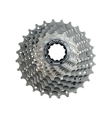2016 Shimano Dura-Ace CS-9000 11 Speed Cassette 11-25 New Cogs with lockring