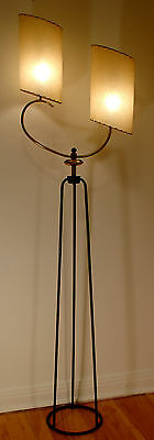 SUPERB Vtg EAMES Era ATOMIC 1950s RETRO Mid CENTURY Modern MAJESTIC Floor LAMP